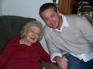 Grandma Lois and I